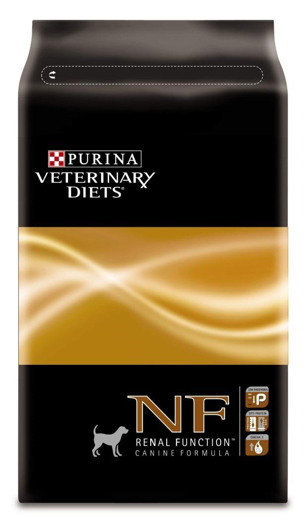 Консервы для собак Purina Veterinary Diets NF, при патологии почек, 3 кг12147110Консервы Purina Veterinary Diets NF - это полнорационный, диетический корм для взрослых собак при патологии почек. Предназначен для поддержания работы почек при хронической почечной недостаточности, изготовлен с низким содержанием фосфора и ограниченными источниками высококачественных белков.Показания к применению:Почечная недостаточностьЗаболевания печени, связанные с энцефалопатиейРанние стадии застойной сердечной недостаточностиГипертензияПротивопоказания:Состояния, требующие поступления больших количеств белка или фосфораРепродуктивный период, рост.Состав: кукурузная мука, рис, яичный порошок, сухая молочная сыворотка, животный жир, сахар, вкусоароматическая кормовая добавка, сухая мякоть свеклы, минеральные вещества, соевое масло, рыбий жир. Анализ: белок: 13%, жир: 14,5%, сырая зола: 4,5%, сырая клетчатка: 2%.Добавки на кг: витамин А: 30 000; витамин D3: 1000; витамин Е: 350 мг/кг; железо: 350; йод: 4; медь: 60; марганец: 130; цинк: 530.Товар сертифицирован.