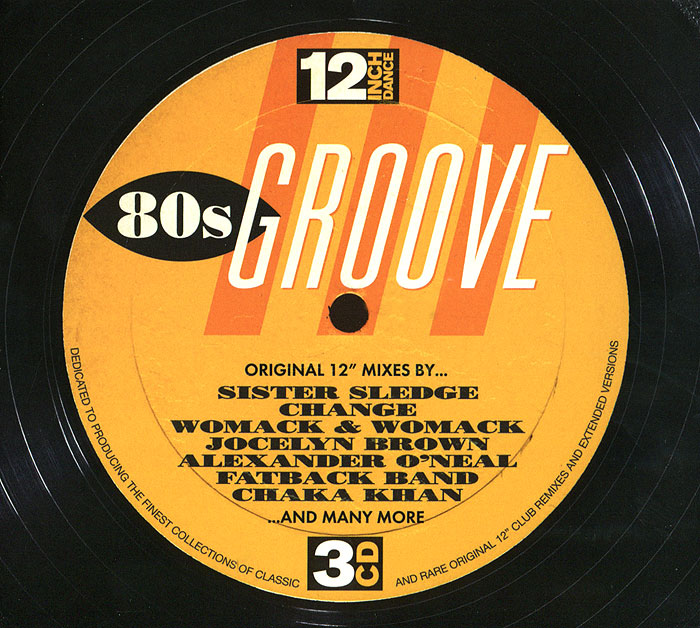 12 Inch Dance. 80s Groove (3 CD)