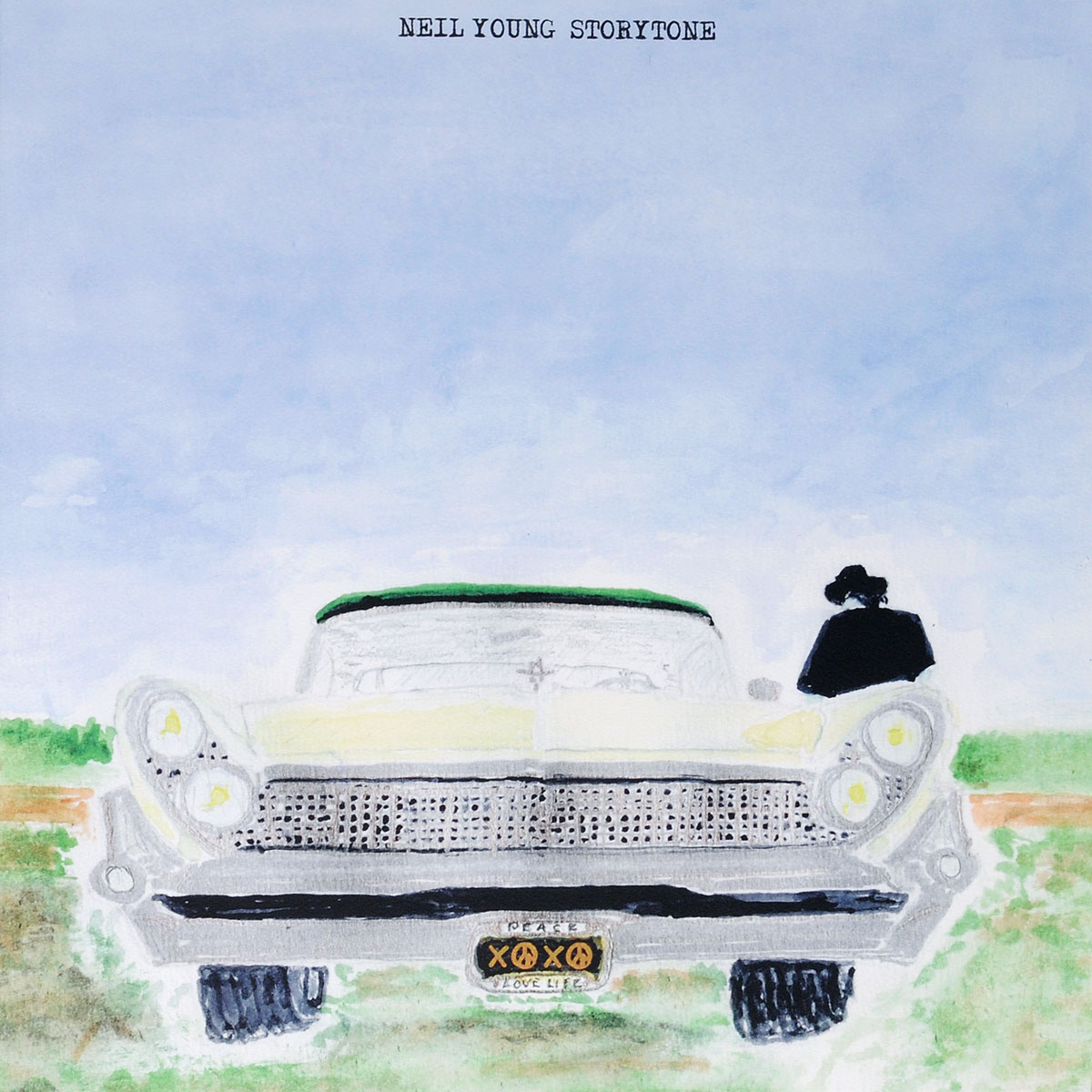 Нил Янг Neil Young. Storytone (2 LP) нил янг neil young cow palace 1986 volume two 2 lp