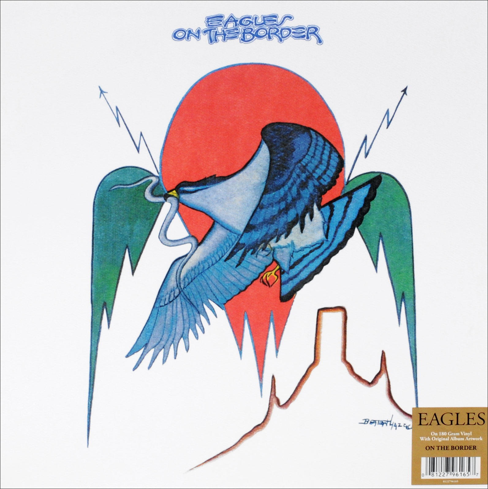 The Eagles Eagles. On The Border (LP) виниловая пластинка eagles the long run 1 lp