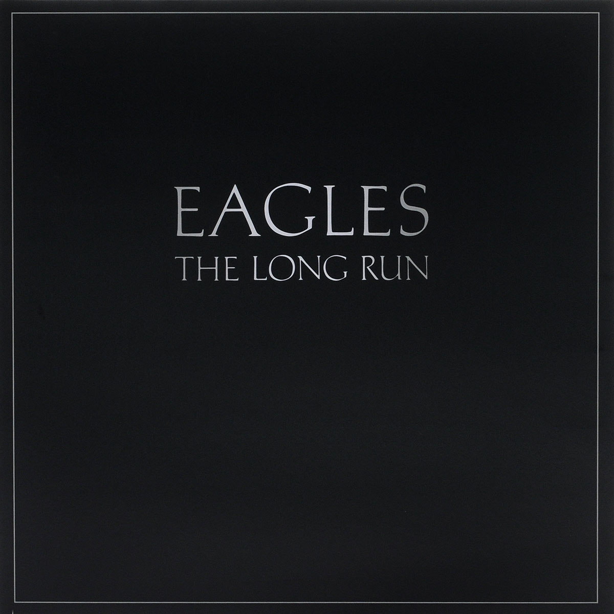 The Eagles Eagles. The Long Run (LP) the giver
