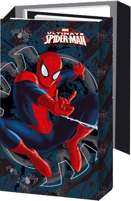 Блокнот Spider-man, с раскладывающейся обложкой. SMAA-US1-OGB72523WDОригинальный блокнот Spider-man в твердой обложке с магнитным клапаном послужит прекрасным местом для памятных записей, любимых стихов и многого другого. Внутри - три разных блокнота: записная книга, телефонно-адресная книга, ежедневник, два из которых на пружине. Внутренние блоки выполнены из серо-синей офсетной бумаги в линейку. В блокноте всего 108 листов.Такой блокнот вызовет улыбку у каждого, кто его увидит, а также послужит оригинальным и практичным подарком.