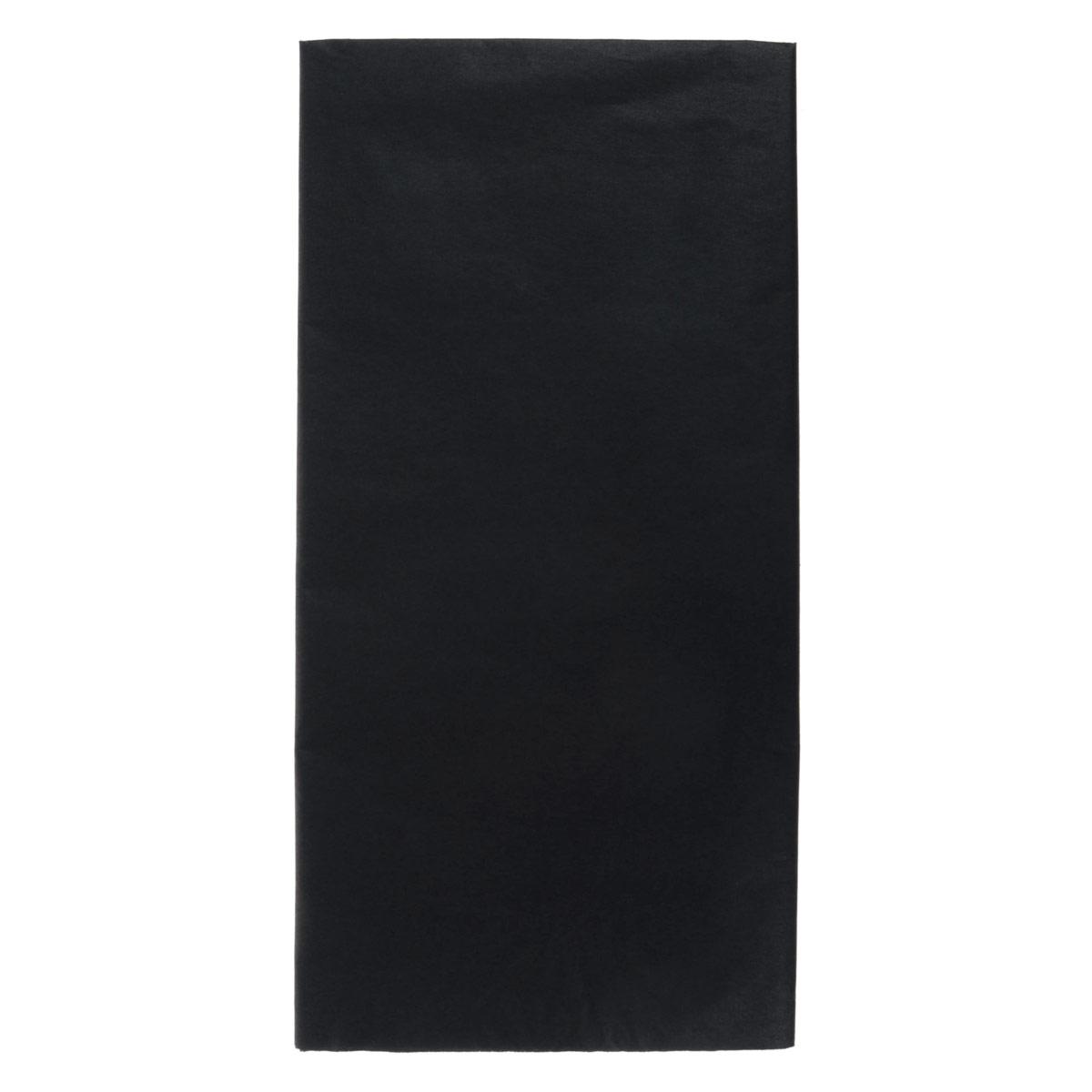 Бумага папиросная Folia, цвет: черный (90), 50 см х 70 см, 5 листов. 7708123_9055052Бумага папиросная Folia - это великолепная тонкая и эластичная декоративная бумага. Такая бумага очень хороша для изготовления своими руками цветов и букетов с конфетами, топиариев, декорирования праздничных мероприятий. Также из нее получается шикарная упаковка для подарков. Интересный эффект дает сочетание мягкой полупрозрачной фактуры папиросной бумаги с жатыми и матовыми фактурами: креп-бумагой, тутовой и различными видами картона. Бумага очень тонкая, полупрозрачная - поэтому ее можно оригинально использовать в декоре стекла, светильников и гирлянд. Достаточно большие размеры листа и богатая цветовая палитра дают простор вашей творческой фантазии. Размер листа: 50 см х 70 см.Плотность: 20 г/м2.