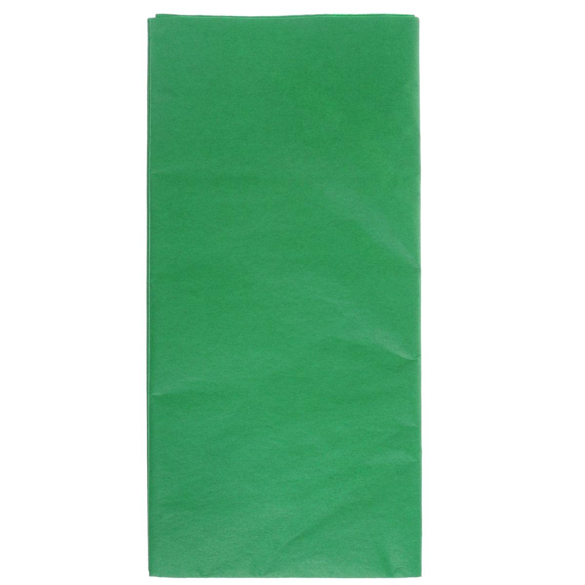 Бумага папиросная Folia, цвет: зеленый (50), 50 х 70 см, 5 листов. 7708123_5055052Бумага папиросная Folia - это великолепная тонкая и эластичная декоративная бумага. Такая бумага очень хороша для изготовления своими руками цветов и букетов с конфетами, топиариев, декорирования праздничных мероприятий. Также из нее получается шикарная упаковка для подарков. Интересный эффект дает сочетание мягкой полупрозрачной фактуры папиросной бумаги с жатыми и матовыми фактурами: креп-бумагой, тутовой и различными видами картона. Бумага очень тонкая, полупрозрачная - поэтому ее можно оригинально использовать в декоре стекла, светильников и гирлянд. Достаточно большие размеры листа и богатая цветовая палитра дают простор вашей творческой фантазии. Размер листа: 50 см х 70 см.Плотность: 20 г/м2.