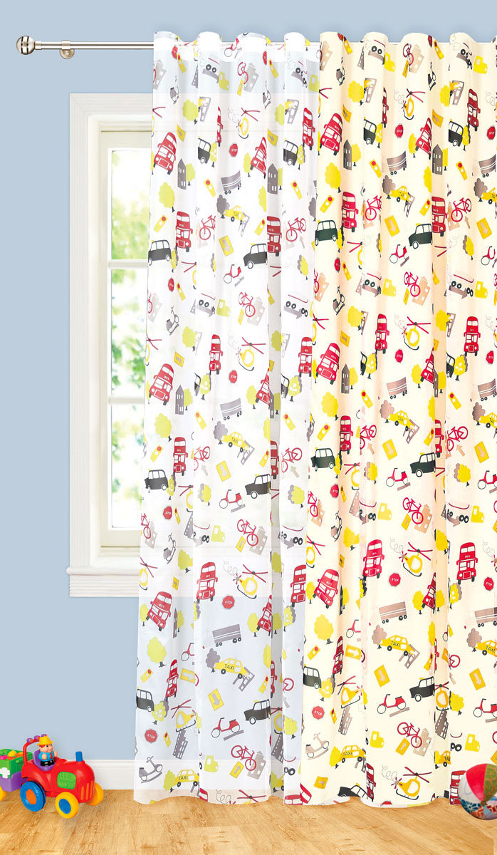 Штора готовая для гостиной Garden, на ленте, цвет: красный, размер 300*260 см. С 8187 - W191 V4GC013/00Готовая тюлевая штора для гостиной Garden выполнена из вуали (100% полиэстер) с печатью. Полупрозрачность материала, вуалевая текстура и яркая цветовая гамма привлекут к себе внимание и органично впишутся в интерьер комнаты. Штора крепится на карниз при помощи ленты, которая поможет красиво и равномерно задрапировать верх. Штора Garden великолепно украсит любое окно.Стирка при температуре 30°С.