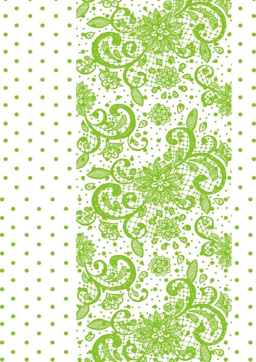 Калька для скрапбукинга Узоры и горошек, цвет: салатовый, 21 см х 30 смRSP-202SКалька для скрапбукинга Узоры и горошек - прозрачная бумага с декоративным принтом. Калька идеально подходит для скрапбукинга. С помощью кальки можно не только украшать сами фотографии, но также, используя пергамент для скрапбукинга, придать оригинальный вид всему альбому. Такие декорированные листы вставляются для украшения между страничками в фотоальбомы. Особенно эффектно выглядит свадебный альбом, украшенный таким образом. C помощью кальки делаются различные декоративные элементы для поздравительных открыток и коллажей. Декоративные орнаменты, фигурки или кармашки станут украшением любой открытки или альбома для фотографий. Плотность: 110 г/м2.