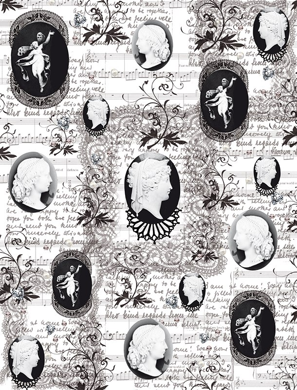Калька для скрапбукинга Камеи, 21 см х 30 см695046Калька для скрапбукинга Камеи - прозрачная бумага с декоративным принтом. Калька идеально подходит для скрапбукинга. С помощью кальки можно не только украшать сами фотографии, но также, используя пергамент для скрапбукинга, придать оригинальный вид всему альбому. Такие декорированные листы вставляются для украшения между страничками в фотоальбомы. Особенно эффектно выглядит свадебный альбом, украшенный таким образом. C помощью кальки делаются различные декоративные элементы для поздравительных открыток и коллажей. Декоративные орнаменты, фигурки или кармашки станут украшением любой открытки или альбома для фотографий. Плотность: 110 г/м2.