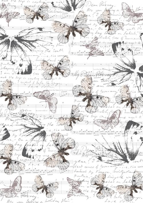 Пленка-оверлей для скрапбукинга Бабочки и ноты, 21 х 30 смC0042416Пленка-оверлей Бабочки и ноты - прозрачная пленка с нанесенным рисунком. Используется чаще всего в скрапбукинге для декорирования фотографий, альбомов, открыток, блокнотов, сувенирных книг и прочего. Для крепления пленки используются разные способы - люверсы, машинная строчка, можно привязать ленточкой, сделав надрез или отверстие, можно приклеить на клей (двухсторонний скотч, и т.п.) и задекорировать это место другими элементами украшений (цветочками, ленточками, пуговками, аппликациями). На пленке можно писать перманентной ручкой или маркером.