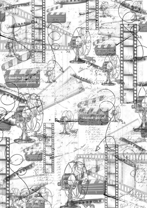Пленка-оверлей для скрапбукинга Синема, 21 см х 30 см97775318Пленка-оверлей Синема - прозрачная пленка с нанесенным рисунком. Используется чаще всего в скрапбукинге для декорирования фотографий, альбомов, открыток, блокнотов, сувенирных книг и прочего. Для крепления пленки используются разные способы - люверсы, машинная строчка, можно привязать ленточкой, сделав надрез или отверстие, можно приклеить на клей (двухсторонний скотч, и т.п.) и задекорировать это место другими элементами украшений (цветочками, ленточками, пуговками, аппликациями). На пленке можно писать перманентной ручкой или маркером.