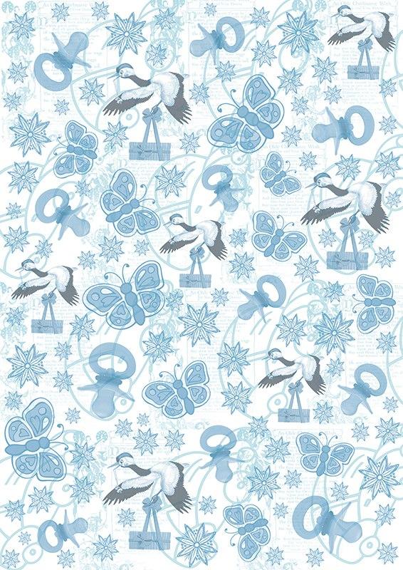 Пленка-оверлей для скрапбукинга Аисты, бабочки, 21 х 30 см55052Пленка-оверлей Аисты, бабочки - прозрачная пленка с нанесенным рисунком. Используется чаще всего в скрапбукинге для декорирования фотографий, альбомов, открыток, блокнотов, сувенирных книг и прочего. Для крепления пленки используются разные способы - люверсы, машинная строчка, можно привязать ленточкой, сделав надрез или отверстие, можно приклеить на клей (двухсторонний скотч, и т.п.) и задекорировать это место другими элементами украшений (цветочками, ленточками, пуговками, аппликациями). На пленке можно писать перманентной ручкой или маркером.