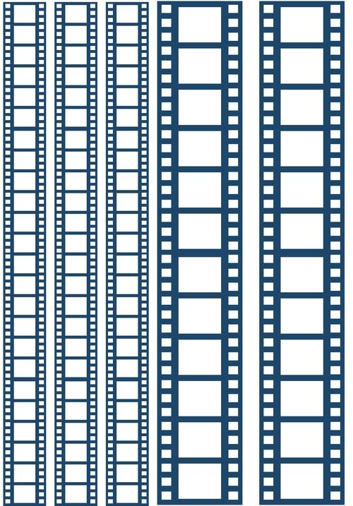 Пленка-оверлей для скрапбукинга Кинопленка, цвет: синий, 21 х 30 см55052Пленка-оверлей Кинопленка - прозрачная пленка с нанесенным рисунком. Используется чаще всего в скрапбукинге для декорирования фотографий, альбомов, открыток, блокнотов, сувенирных книг и прочего. Для крепления пленки используются разные способы - люверсы, машинная строчка, можно привязать ленточкой, сделав надрез или отверстие, можно приклеить на клей (двухсторонний скотч, и т.п.) и задекорировать это место другими элементами украшений (цветочками, ленточками, пуговками, аппликациями). На пленке можно писать перманентной ручкой или маркером.
