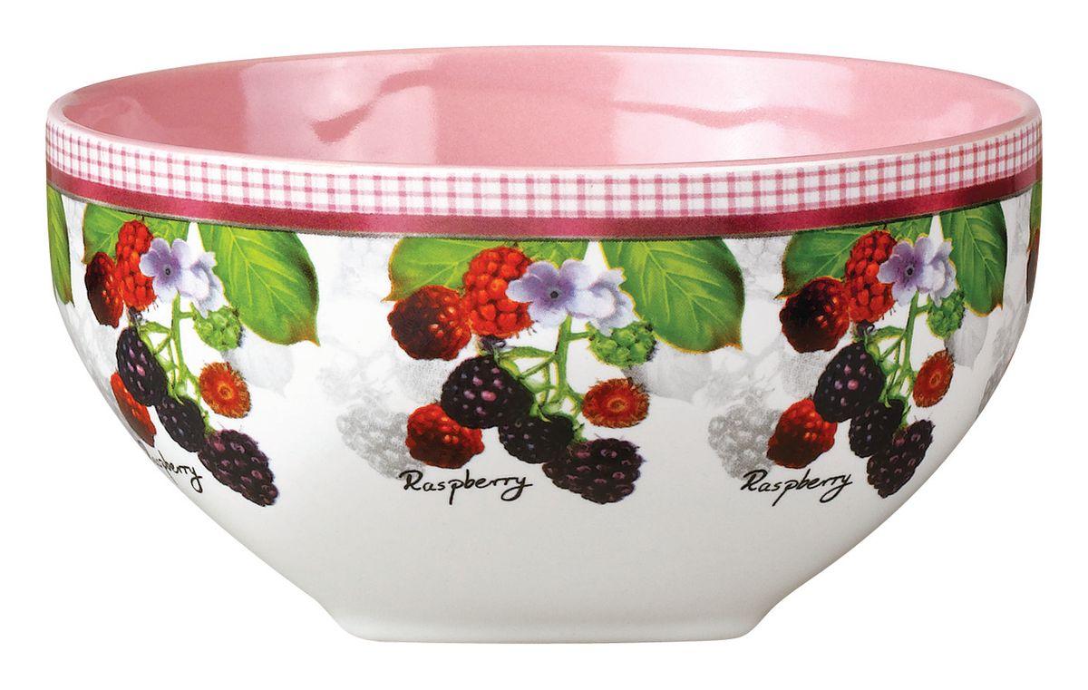 Салатник Ежевика, 510 млSXT M15-14Салатник Ежевика изготовлен из высококачественной керамики и декорирован ярким изображением ягод ежевики. Он прекрасно впишется в интерьер вашей кухни и станет достойным дополнением к кухонному инвентарю. Такой салатник не только украсит ваш кухонный стол и подчеркнет прекрасный вкус хозяйки, но и станет отличным подарком.Можно использовать в посудомоечной машине и микроволновой печи. Объем салатника: 510 мл. Диаметр салатника: 13 см. Высота салатника: 7 см.