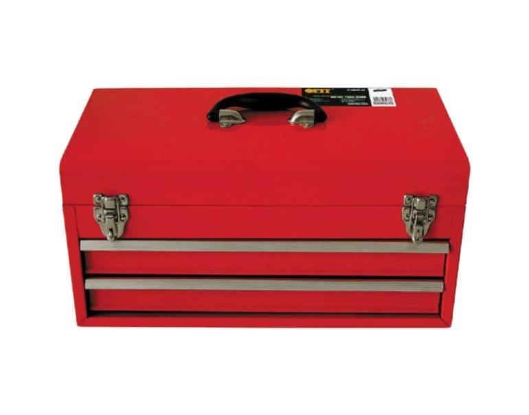 Ящик для инструмента FIT, металлический, с двумя выдвижными отделениями, 46 х 22 х 25 см98293777Металлический ящик FIT оригинальной конструкции с двумя выдвигающимися ящиками. Прочная металлическая конструкция обеспечит отличные условия хранения для инструмента, расходного материала и т.д.