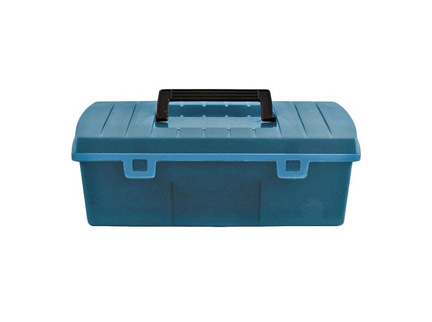 Ящик для инструментов FIT, 35 см х 16,5 см х 12,5 см2706 (ПО)Ящик FIT 65498 необходимое и очень удобное приспособление для хранения инструментов, крепежей и различных расходных материалов. Данный ящик имеет оптимальные габариты и диагональ 14 дюймов. Следует отметить, что он выполнен из специального ударопрочного пластика и обладает усиленной рукоятью для удобной переноски. Характеристики: Материал:пластик. Размеры ящика: 35 см х 16,5 см х 12,5 см. Глубина ящика: 9 см. Размеры упаковки: 35 см х 16,5 см х 12,5 см.