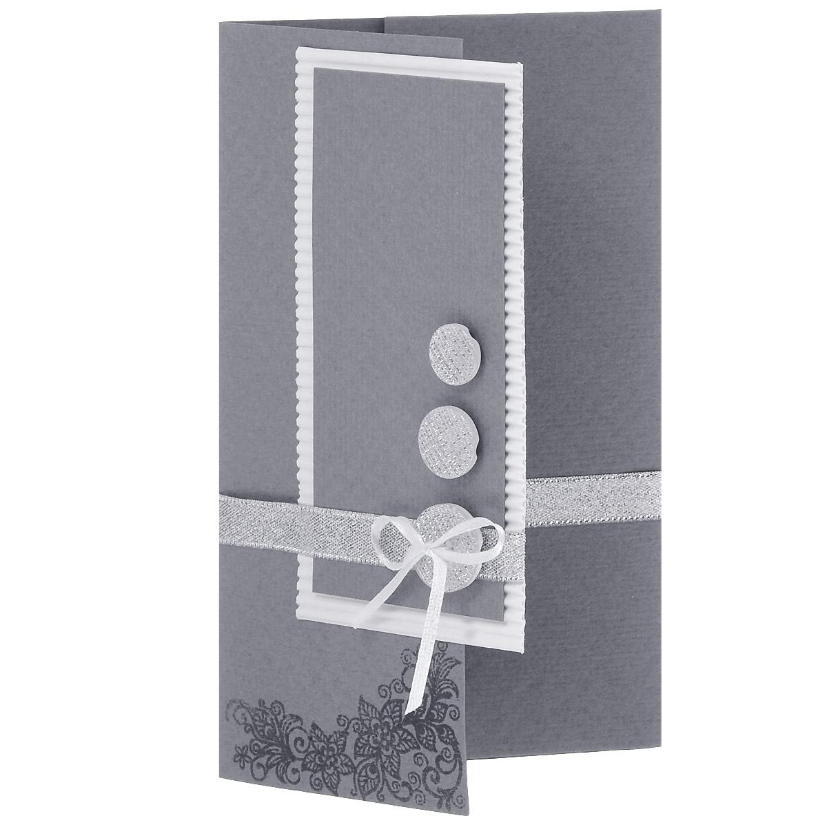 ОРАЗ-0001 Открытка-конверт(Серебряные вензеля и пуговицы). Студия «Тётя Роза»YM116017-4Характеристики: Размер 19 см x 11 см.Материал: Высоко-художественный картон, бумага, декор. Данная открытка может стать как прекрасным дополнением к вашему подарку, так и самостоятельным подарком. Так как открытка является и конвертом, в который вы можете вложить ваш денежный подарок или просто написать ваши пожелания на вкладыше. Конверт для поздравления универсален в своей идее. Ненавязчивый дизайн не ориентирован на какой-то особый случай, поэтому может быть использован для любого повода. Использован гофрированный картон, парчовые ленты, блестящие пуговицы. Вензель выполнен в технике горячего термоподъема. Также открытка упакована в пакетик для сохранности.Обращаем Ваше внимание на то, что открытка может незначительно отличаться от представленной на фото.Открытки ручной работы от студии Тётя Роза отличаются своим неповторимым и ярким стилем. Каждая уникальна и выполнена вручную мастерами студии. (Открытка для мужчин, открытка для женщины, открытка на день рождения, открытка с днем свадьбы, открытка винтаж, открытка с юбилеем, открытка на все случаи, скрапбукинг)