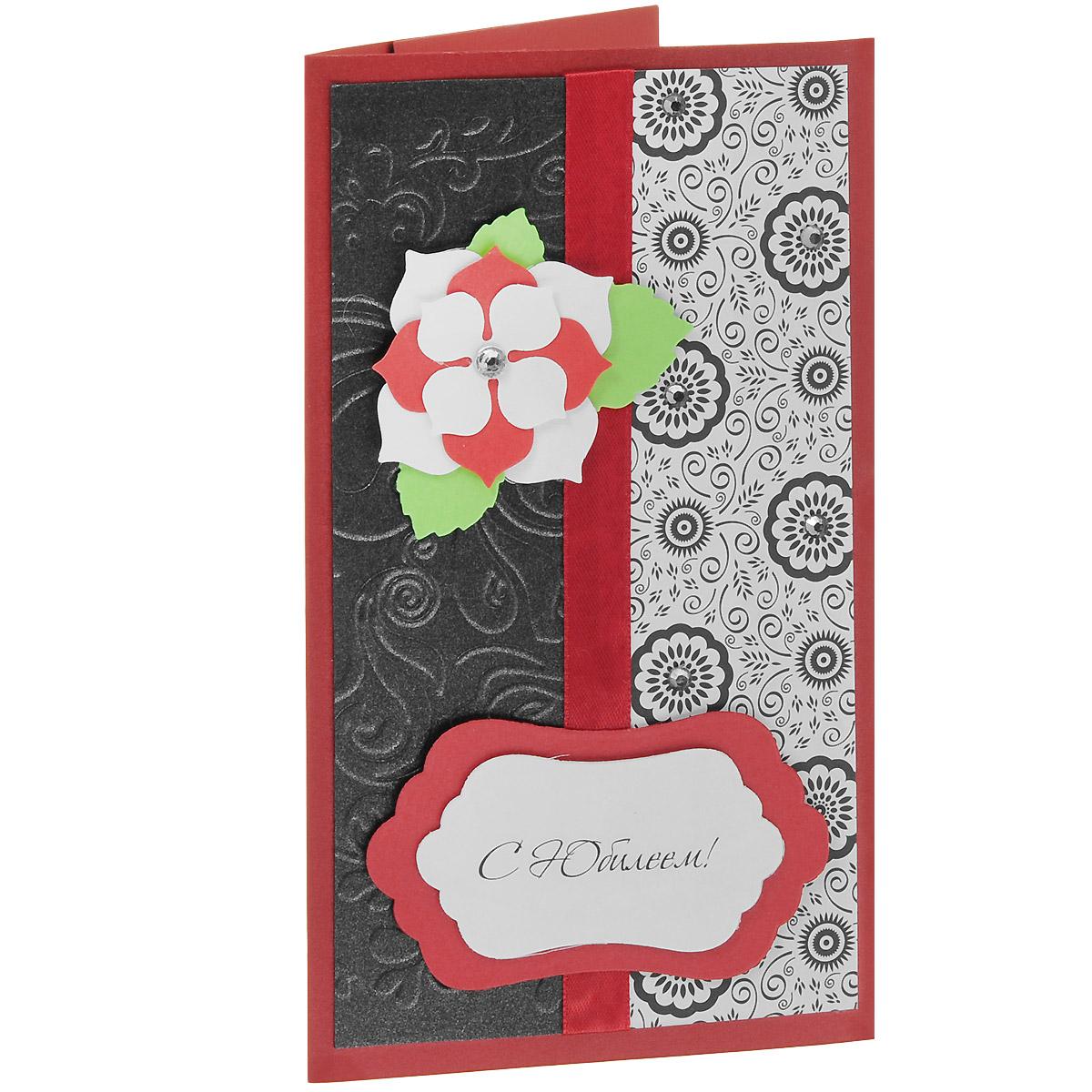 ОЮ-0002 Открытка-конверт «С Юбилеем!». Студия «Тётя Роза»117921Характеристики: Размер 19 см x 11 см.Материал: Высоко-художественный картон, бумага, декор. Данная открытка может стать как прекрасным дополнением к вашему подарку, так и самостоятельным подарком. Так как открытка является и конвертом, в который вы можете вложить ваш денежный подарок или просто написать ваши пожелания на вкладыше. Благородное и богатое поздравление к юбилейному событию сочетает в себе разно-фактурные материалы контрастных красно-белых и черных цветов. Сверкающие мелкие стразы эффектно дополняют роскошный стиль этого конверта. Также открытка упакована в пакетик для сохранности.Обращаем Ваше внимание на то, что открытка может незначительно отличаться от представленной на фото.Открытки ручной работы от студии Тётя Роза отличаются своим неповторимым и ярким стилем. Каждая уникальна и выполнена вручную мастерами студии. (Открытка для мужчин, открытка для женщины, открытка на день рождения, открытка с днем свадьбы, открытка винтаж, открытка с юбилеем, открытка на все случаи, скрапбукинг)