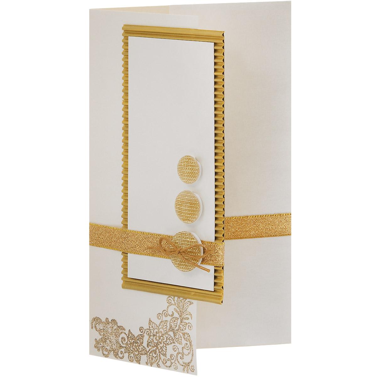 ОРАЗ-0001 Открытка-конверт(Золотые вензеля и пуговицы). Студия «Тётя Роза»740291Характеристики: Размер 19 см x 11 см.Материал: Высоко-художественный картон, бумага, декор. Данная открытка может стать как прекрасным дополнением к вашему подарку, так и самостоятельным подарком. Так как открытка является и конвертом, в который вы можете вложить ваш денежный подарок или просто написать ваши пожелания на вкладыше. Конверт для поздравления универсален в своей идее. Ненавязчивый дизайн не ориентирован на какой-то особый случай, поэтому может быть использован для любого повода. Использован гофрированный картон, парчовые ленты, блестящие пуговицы. Вензель выполнен в технике горячего термоподъема. Также открытка упакована в пакетик для сохранности.Обращаем Ваше внимание на то, что открытка может незначительно отличаться от представленной на фото.Открытки ручной работы от студии Тётя Роза отличаются своим неповторимым и ярким стилем. Каждая уникальна и выполнена вручную мастерами студии. (Открытка для мужчин, открытка для женщины, открытка на день рождения, открытка с днем свадьбы, открытка винтаж, открытка с юбилеем, открытка на все случаи, скрапбукинг)