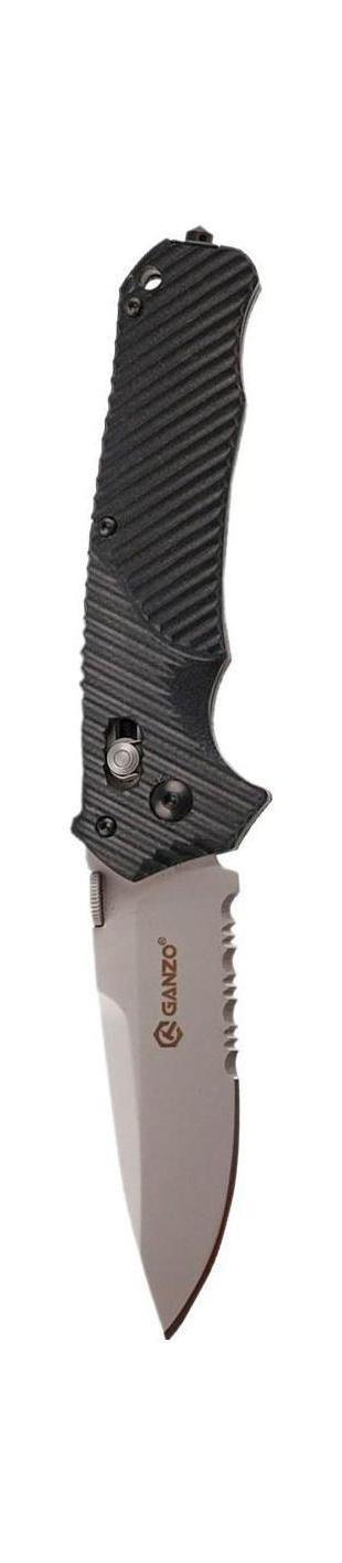 Нож складной туристический Ganzo G716-SG716-SСкладной нож Ganzo G716-S всегда найдет себе применение на даче или в гараже, на рыбалке или охоте. Малые габариты делают его удобным при частой транспортировке. Лезвие выполнено из высококачественной нержавеющей стали.