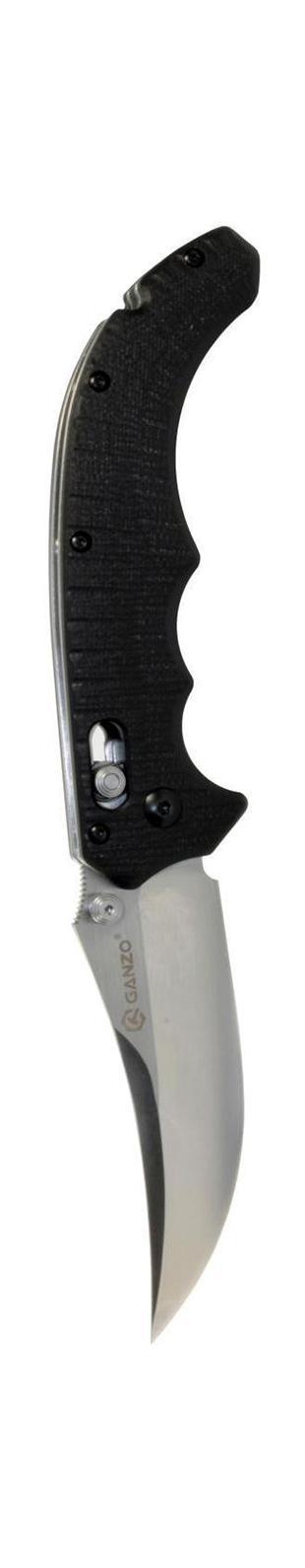 Нож туристический Ganzo, складной. G7126900000429297Складной нож Ganzo G712 всегда найдет себе применение на даче или в гараже, на рыбалке или охоте. Малые габариты делают его удобным при частой транспортировке. Лезвие выполнено из высококачественной нержавеющей стали.