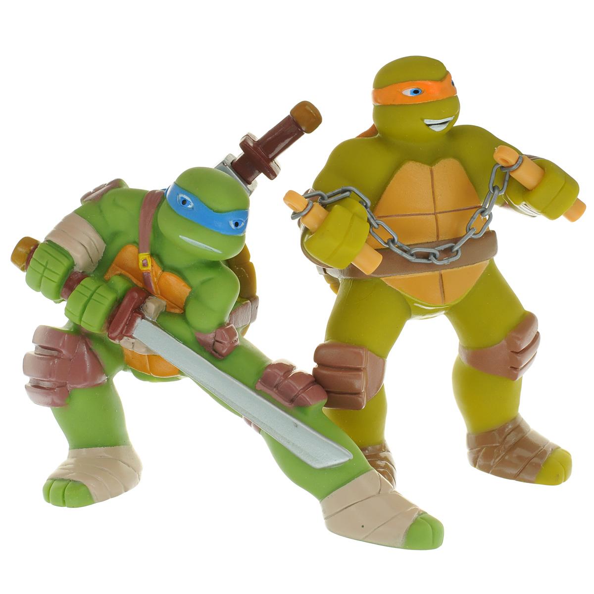 Набор игрушек для ванной Играем вместе: Черепашки-Ниндзя , 2 шт, Shantou City Daxiang Plastic Toy Products Co., Ltd, Первые игрушки  - купить со скидкой