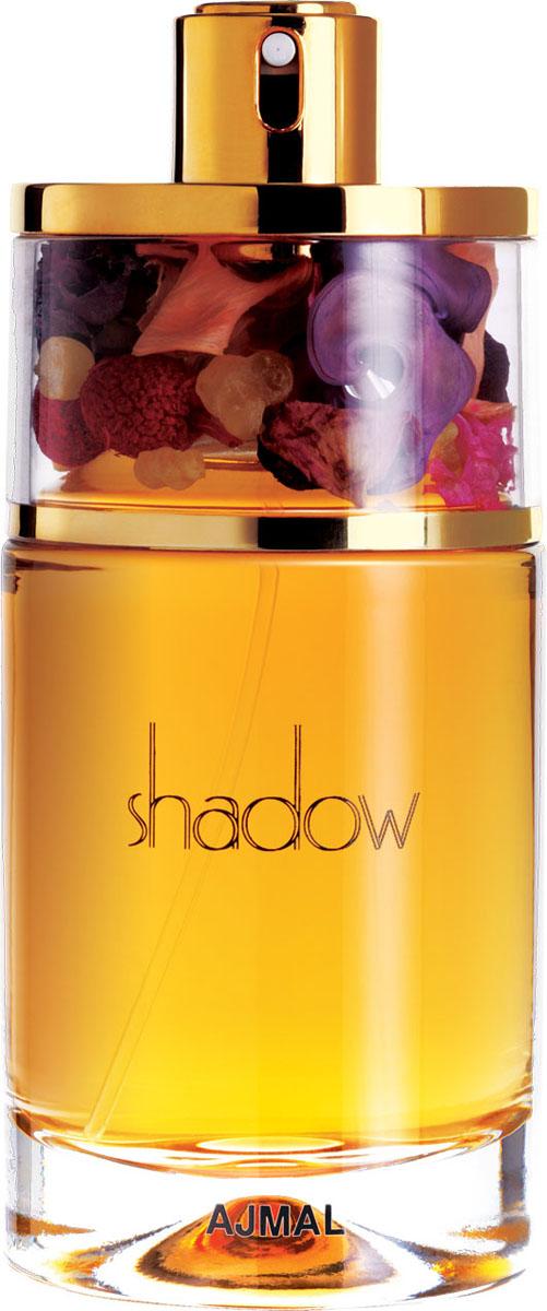 Ajmal Shadow for Her Парфюмерная вода, 75 мл1301210Прекрасный чувственный женский аромат, который раскрывается волшебными созвучиями древесины красных тропических пород, лаванды и нектарина. Сердце насыщенно нотами пачули и орхидеи. Шлейф аромата мягко снисходит до теплой древесной основы белого мускуса.