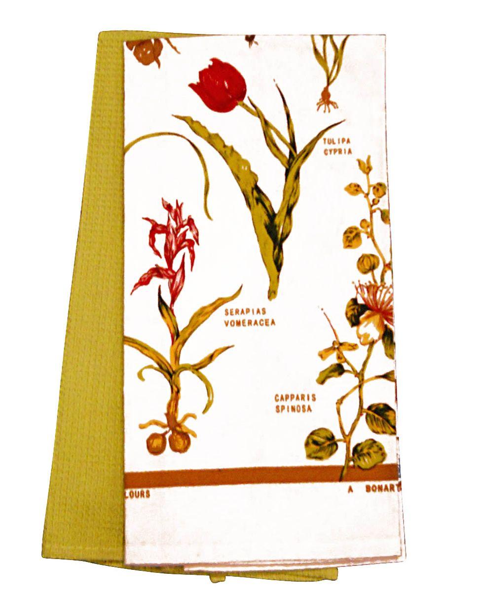 Набор: полотенце с печатью, полотенце вафельное, 50*70см, хлопокVT-1520(SR)Плотное гладкое полотенце с ярким печатным растительным рисунком в наборе с полотенцем из однотонной ткани. 100% хлопок