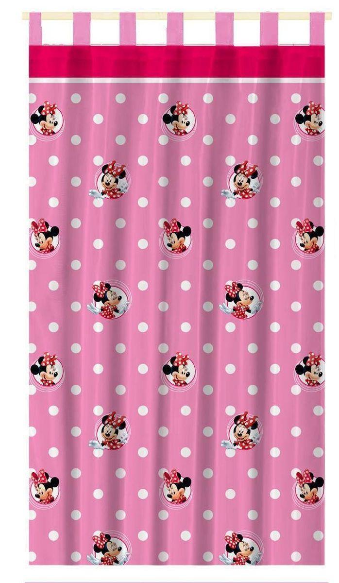 Штора интерьерная Disney Минни Маус, на петлях, высота 280 смSVC-300Штора Disney Минни Маус изготовлена из 100% полиэстера. Она удобна в эксплуатации и проста в уходе. Изделие не деформируется и не теряет яркость нанесенного рисунка. Штора интерьерная Disney Минни Маус с изображением любимойгероини украсит детскую комнату и непременно будет радовать вашего ребенка.Крепится на петлях. Рекомендации по уходу: стирать в ручном режиме без использования отбеливающих средств. Химчистка запрещена.