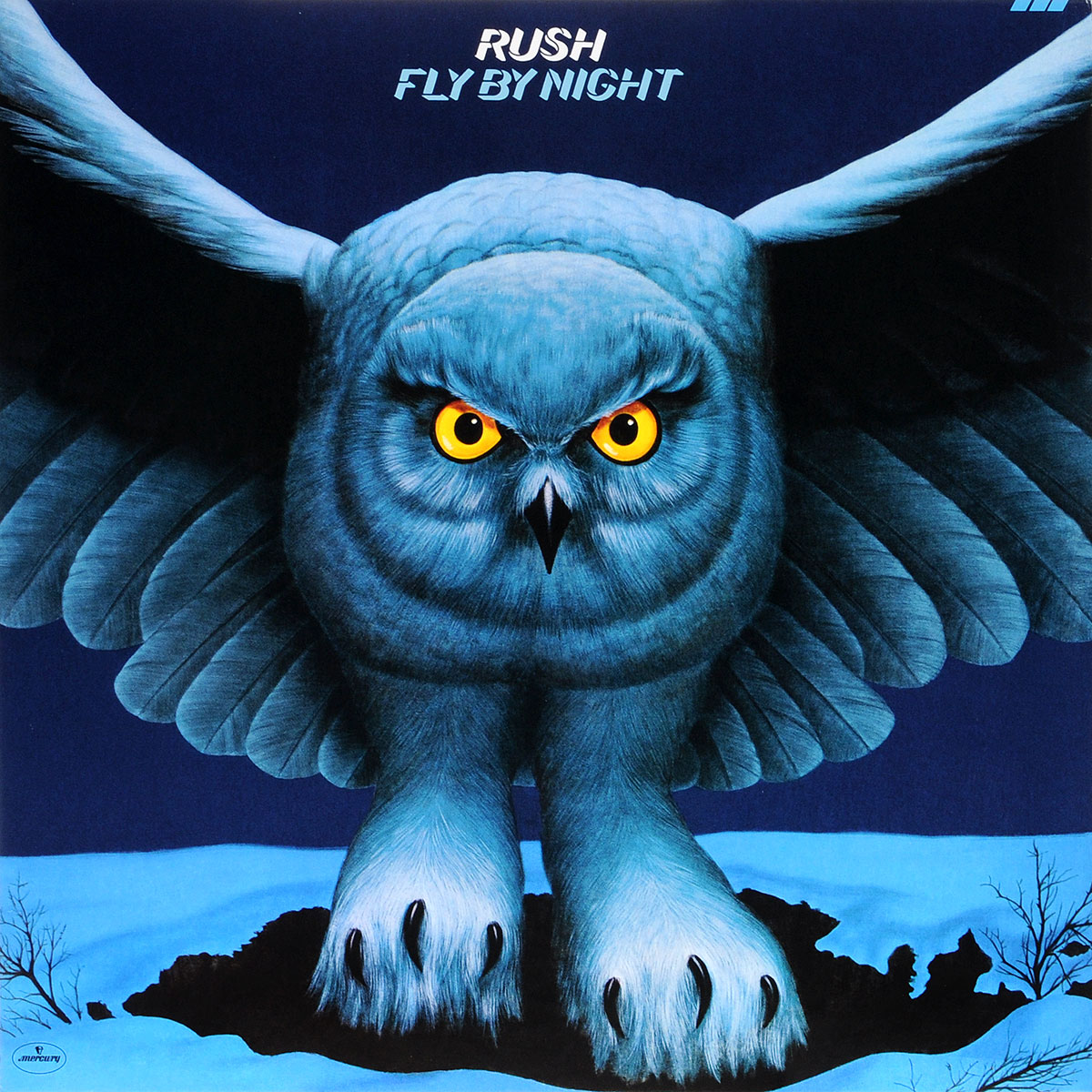 Rush Rush. Fly By Night (LP) rush rush moving pictures lp
