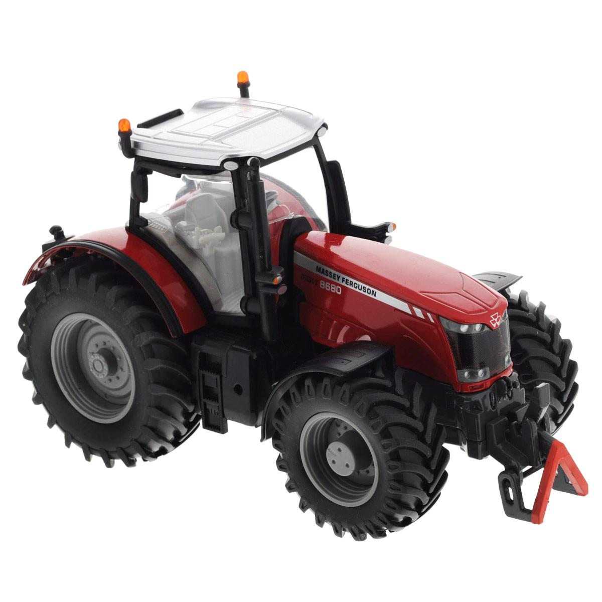 Siku Трактор Massey Ferguson MF8680 siku трактор deutz agrotron x720 с прицепами joskin