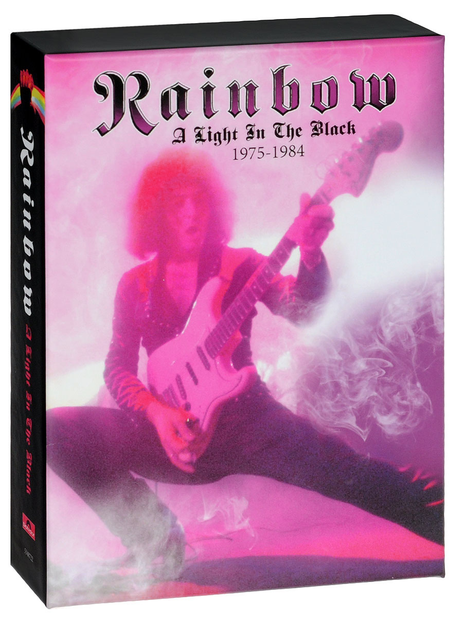 Rainbow Rainbow. A Light In The Black 1975-1984 (5 CD + DVD) cd диск the doors when you re strange a film about the doors songs from the motion picture 1 cd