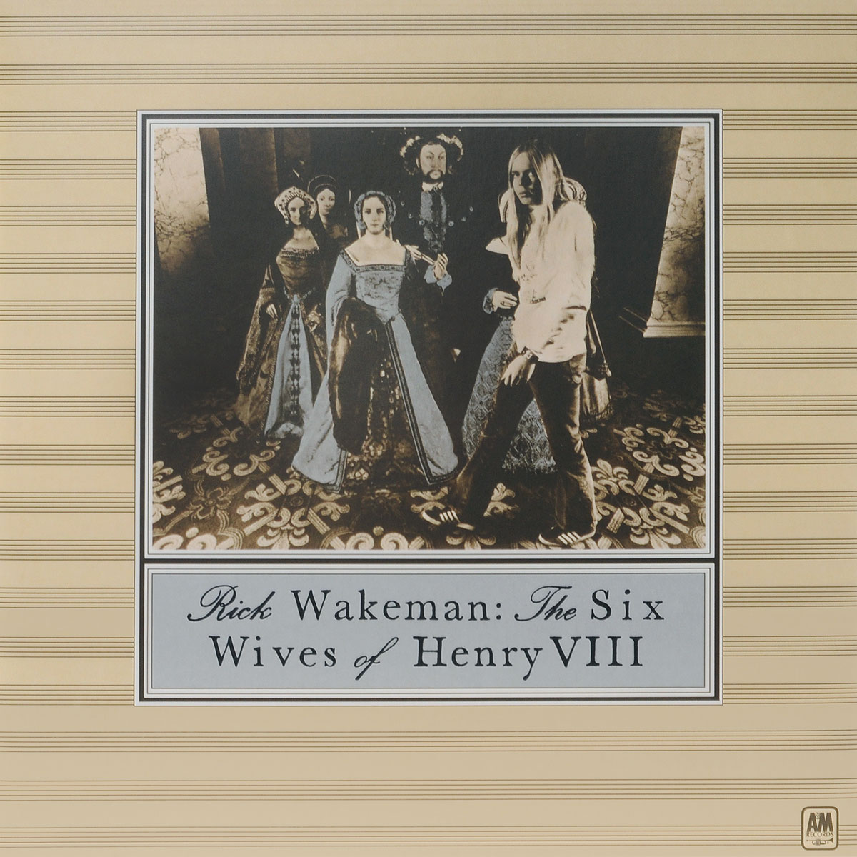 Рик Уэйкман Rick Wakeman. The Six Wives Of Henry VIII (LP) rick wakeman rick wakeman no earthly connection
