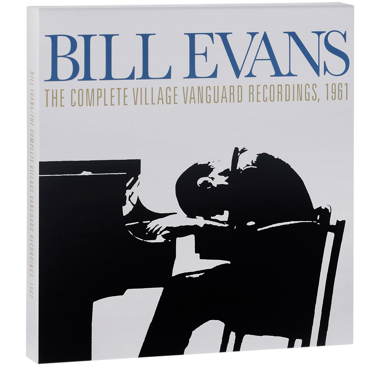 Билл Эванс,Скот ЛаФэро,Пол Мотиан Bill Evans. The Complete Village Vanguard Recordings, 1961. Collectors Edition (4 LP) туника evans evans ev006ewock36
