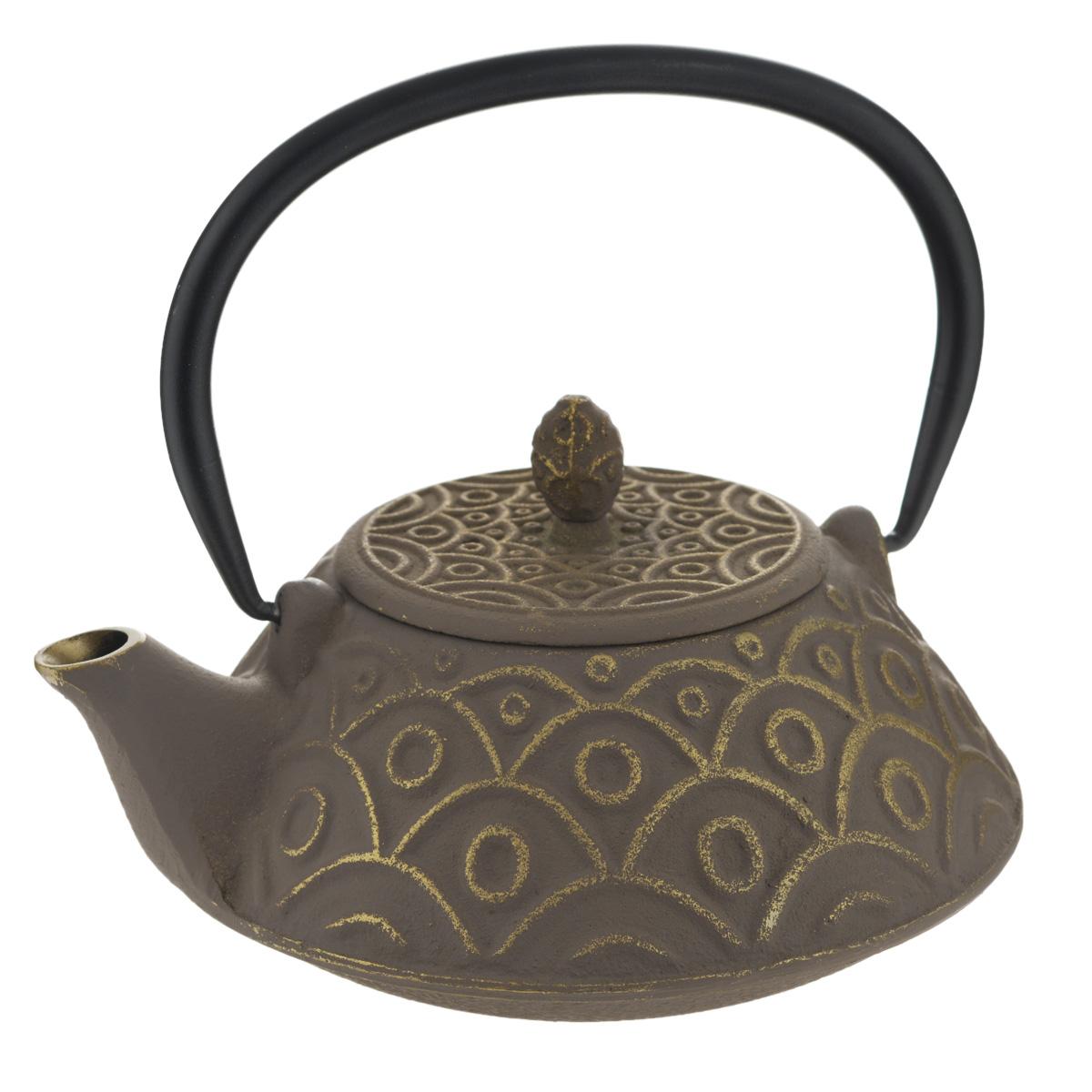 Чайник заварочный Mayer & Boch, 750 мл. 23698115510Чайник заварочный Mayer & Boch изготовлен из чугуна - экологически чистого материала, который не тускнеет и не деформируется. Он долговечен и устойчив к воздействию высоких температур. Главное достоинство чугунного чайника - способность длительно сохранять тепло, чай в таком чайнике сохраняет свой вкус и свежий аромат долгое время. Внутренняя колба чайника выполнена из нержавеющей стали. Изделие оснащено удобной ручкой.Классический стиль, приятная цветовая гамма и оптимальный объем делают чайник удобным и оригинальным аксессуаром, который прекрасно подойдет как для ежедневного использования, так и для специальной чайной церемонии. Чайник нельзя мыть в посудомоечной машине.Диаметр по верхнему краю: 8 см.Высота (без учета крышки): 8,5 см.Диаметр дна: 6,5 см.