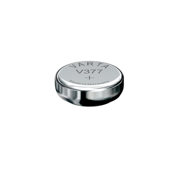 Батарейка Varta Professional Electronics V377, 1,55В, 1 шт2605Батарейка Varta Professional Electronics обеспечивает высокую энергию для автомобильных ключей, калькуляторов, фотоаппаратов и других электронных приборов.