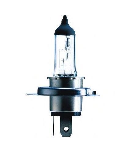 Лампа автомобильная галогенная Philips MasterDuty, для фар, цоколь H4 (P43t), 24V, 75/70W10503Галогенная лампа для автомобильных фар Philips MasterDuty произведена из запатентованного кварцевого стекла с УФ фильтром Philips Quartz Glass. Кварцевое стекло Philips в отличие от обычного твердого стекла выдерживает гораздо большее давление смеси газов внутри колбы, что препятствует быстрому испарению вольфрама с нити накаливания. Кварцевое стекло выдерживает большой перепад температур, при попадании влаги на работающую лампу изделие не взрывается и продолжает работать. Лампы для головного освещения MasterDuty имеют максимальную вибростойкость и обеспечивают долгий срок службы. Эти лампы служат в 2 раза дольше, их вибростойкость увеличена в два раза по сравнению с обычными лампами, представленными на рынке. Лампы MasterDuty отличаются повышенной прочностью крепления цоколя для непревзойденной защиты от механических ударов, а также прочной двойной нитью накаливания, которая выдерживает значительные вибрации. MasterDuty - лучший выбор для водителей, которым нужна продолжительная прочность.Автомобильные галогенные лампы Philips удовлетворят все нужды автомобилистов: дальний свет, ближний свет, передние противотуманные фары, передние и боковые указатели поворота, задние указатели поворота, стоп-сигналы, фонари заднего хода, задние противотуманные фонари, освещение номерного знака, задние габаритные/стояночные фонари, освещение салона.