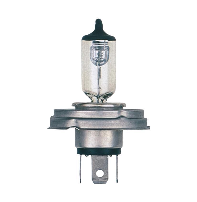 Лампа автомобильная Narva HR2 12V-45/40W (P45t) 48121PANTERA SPX-2RSЛампа фары - галогенная, автомобильная, две функции (двухнитевая лампа), напряжение 12 Вольт, номинальная мощность 45/40 Ватт, с металлическим цоколем (исполнение патрона P45t). Освещение. Основная (головная) фара (передняя оптика, штатные фары) без и с автоматической системой стабилизации (механический (ручной) корректор, электрический корректор, автоматический корректор) с функциями: лампа дальнего и ближнего света. В соответствии с каталогом производителя продукции и конструктивной спецификацией производителя автомобиля. Напряжение: 12 вольт