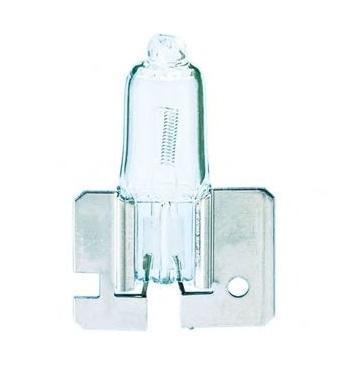 Лампа автомобильная галогенная Philips Vision, для противотуманных фар, цоколь H2 (X511), 12V, 55WRC-100BWCАвтомобильная галогенная лампа Philips Vision произведена из запатентованного кварцевого стекла с УФ фильтром Philips Quartz Glass. Кварцевое стекло Philips в отличие от обычного твердого стекла выдерживает гораздо большее давление смеси газов внутри колбы, что препятствует быстрому испарению вольфрама с нити накаливания. Кварцевое стекло выдерживает большой перепад температур, при попадании влаги на работающую лампу изделие не взрывается и продолжает работать. Лампы Philips Vision дают на 30% больше света по сравнению со стандартными лампами. Они создают превосходный световой поток, отличаются приемлемой ценой и соответствуют стандартам качества для оригинального оборудования. Благодаря улучшенному распределению света лампы Philips Vision способны освещать дорогу на большем расстоянии, повышая безопасность и комфорт вождения. Автомобильные галогенные лампы Philips удовлетворят все нужды автомобилистов: дальний свет, ближний свет, передние противотуманные фары, передние и боковые указатели поворота, задние указатели поворота, стоп-сигналы, фонари заднего хода, задние противотуманные фонари, освещение номерного знака, задние габаритные/стояночные фонари, освещение салона.