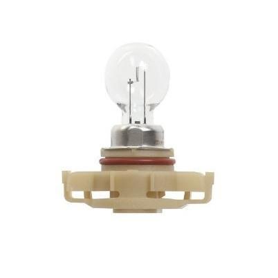 Лампа автомобильная галогенная сигнальная Philips HiPerVision, цоколь PSX24W (PG20/7), 12V, 24W10503Автомобильная лампа Philips Vision изготовлена из запатентованного кварцевого стекла с УФ-фильтром Philips Quartz Glass. Кварцевое стекло в отличие от обычного стекла выдерживает гораздо большее давление и больший перепад температур. При попадании влаги на работающую лампу, лампа не взрывается и продолжает работать. Лампа Philips Vision производит на 30% больше света по сравнению со стандартной лампой, благодаря чему стоп-сигналы или указатели поворота будут заметны с большего расстояния. Применение лампы:- передний указатель поворота; - задний указатель поворота; - фонарь подсветки государственного регистрационного знака; - задний противотуманный фонарь; - габаритный фонарь/стояночный фонарь; - стоп-сигнал; - дневные ходовые огни; - задний фонарь. Лампа Philips Vision отличается высокой эффективностью, соответствуя всем современным требованиям.