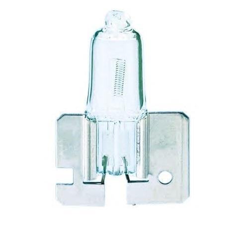 Лампа автомобильная галогенная Philips MasterDuty, для фар, цоколь H2 (X511), 24V, 70W10503Галогенная лампа для автомобильных фар Philips MasterDuty произведена из запатентованного кварцевого стекла с УФ фильтром Philips Quartz Glass. Кварцевое стекло Philips в отличие от обычного твердого стекла выдерживает гораздо большее давление смеси газов внутри колбы, что препятствует быстрому испарению вольфрама с нити накаливания. Кварцевое стекло выдерживает большой перепад температур, при попадании влаги на работающую лампу изделие не взрывается и продолжает работать. Лампы для головного освещения MasterDuty имеют максимальную вибростойкость и обеспечивают долгий срок службы. Эти лампы служат в 2 раза дольше, их вибростойкость увеличена в два раза по сравнению с обычными лампами, представленными на рынке. Лампы MasterDuty отличаются повышенной прочностью крепления цоколя для непревзойденной защиты от механических ударов, а также прочной двойной нитью накаливания, которая выдерживает значительные вибрации. MasterDuty - лучший выбор для водителей, которым нужна продолжительная прочность.Автомобильные галогенные лампы Philips удовлетворят все нужды автомобилистов: дальний свет, ближний свет, передние противотуманные фары, передние и боковые указатели поворота, задние указатели поворота, стоп-сигналы, фонари заднего хода, задние противотуманные фонари, освещение номерного знака, задние габаритные/стояночные фонари, освещение салона.