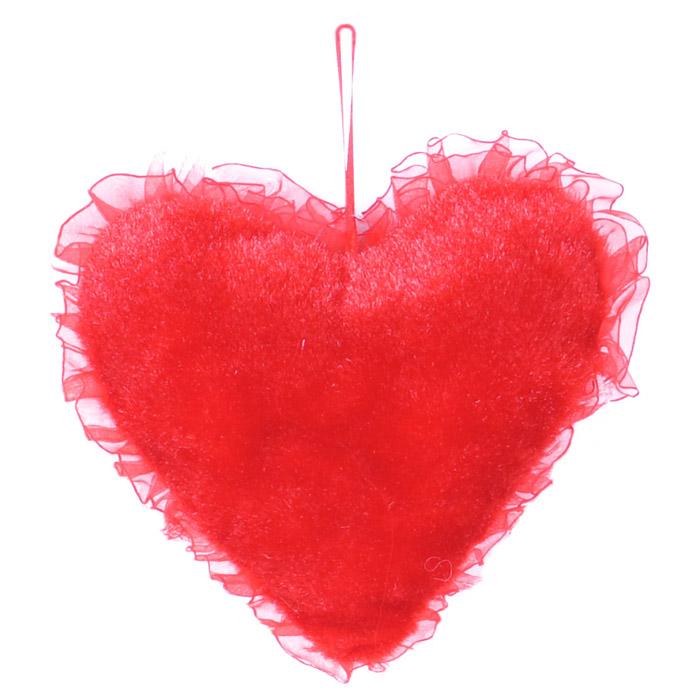 Декоративное подвесное украшение Home Queen Сердце, 20 см декоративное подвесное украшение home queen сахарное рисунок клетка