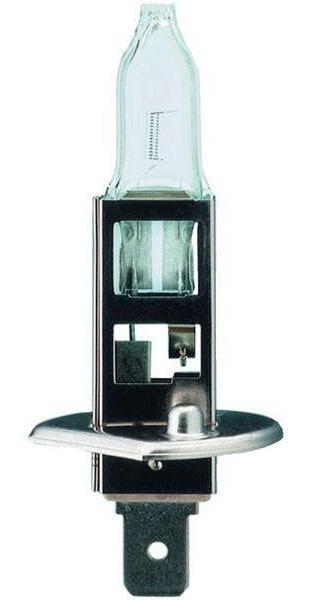 Лампа автомобильная NarvaH1 12V-55W (P14,5s) (блистер 1шт.) 4832010503Лампы фар - галогенные, автомобильные, напряжение 12 Вольт, номинальная мощность 55 Ватт, с металлическим цоколем (исполнение патрона P14,5s). Освещение универсальное, типы ECE. Основная (головная) фара (передняя оптика, штатные фары) без и с автоматической системой стабилизации (механический (ручной) корректор, электрический корректор, автоматический корректор) с функциями: лампа дальнего света, лампа противотуманного света. Противотуманная фара (противотуманка, фара в бампер, штатная оптика) с функцией: лампа противотуманного света. В соответствии с каталогом производителя продукции и конструктивной спецификацией производителя автомобиля. Напряжение: 12 вольт