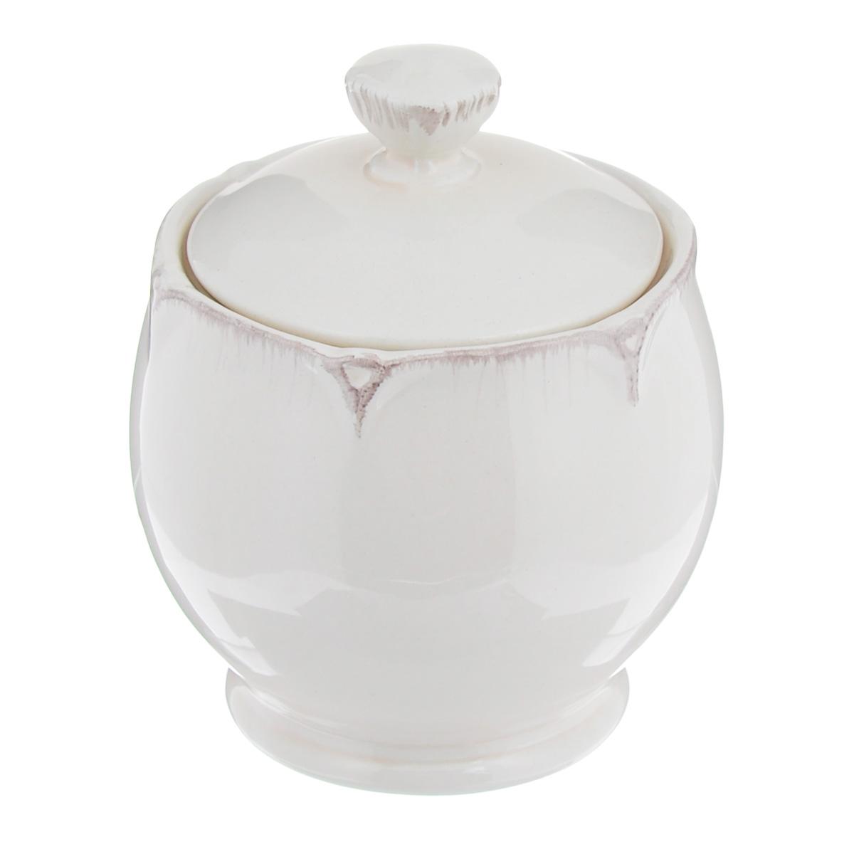 Сахарница Lillo Ideal, 300 мл115510Сахарница с крышкой Lillo Ideal, изготовленная из высококачественной керамики, доставит истинное удовольствие ценителям прекрасного. Сахарница украшена рельефом по краю. Красочность оформления придется по вкусу и ценителям классики, и тем, кто предпочитает утонченность и изысканность.Остерегайтесь сильных ударов. Не применять абразивные чистящие средства. Диаметр сахарницы: 6 см.Высота сахарницы (без учета крышки): 8 см.Объем: 300 мл.