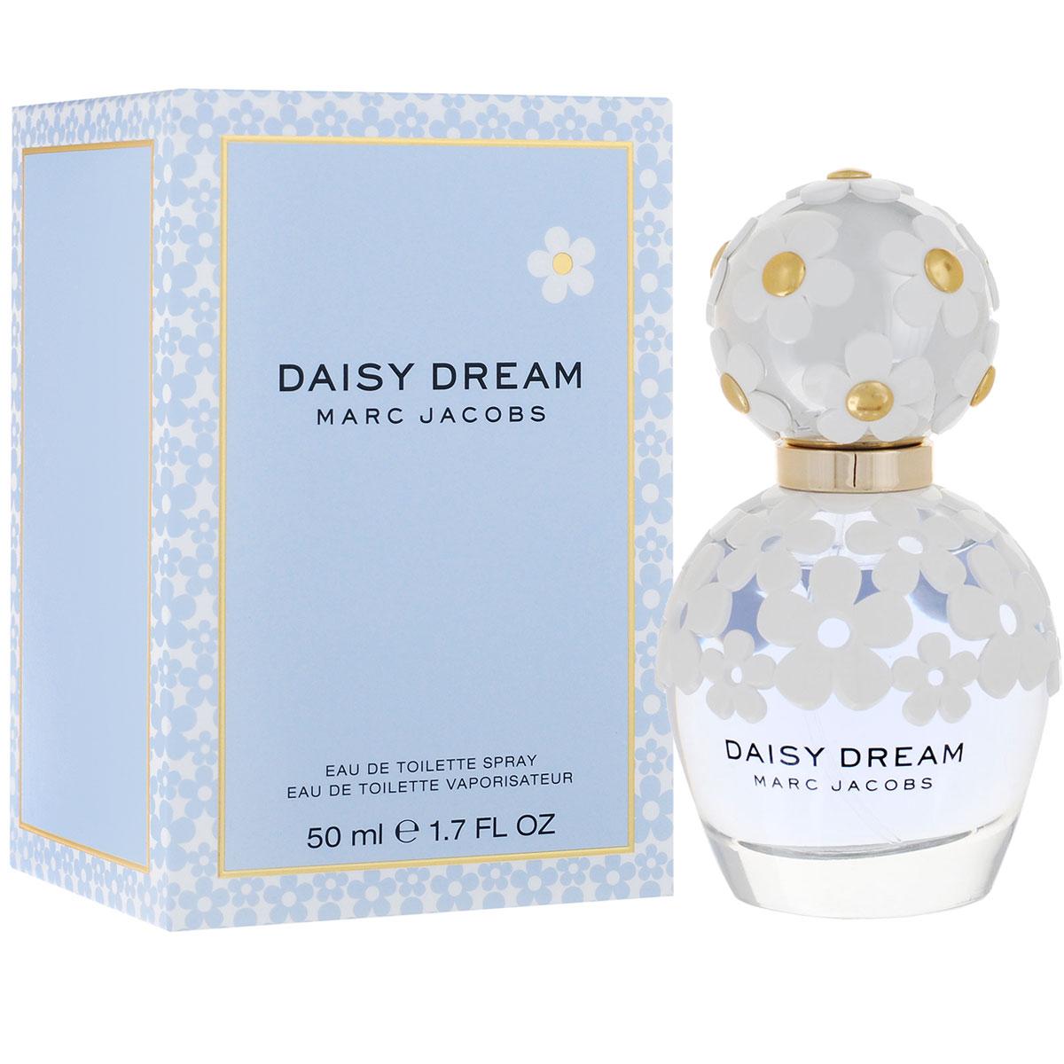 Marc Jacobs Туалетная вода Daisy Dream, женская, 50 мл духи marc jacobs daisy dream 4 10ml