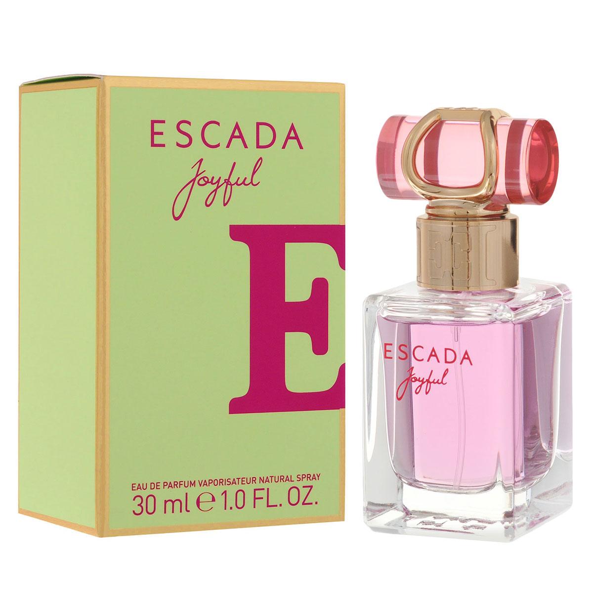 Escada Парфюмерная вода Joyful, женская, 30 мл1301210Нежный и легкий, словно мерцающая утренняя роса, ESCADA Joyful – это восхитительный цветочный аромат. Насыщенный аромат магнолии и розового пиона придает аромату глубину, выразительность и изысканный характер. Верхние ноты Аромат открывается аккордом сорбета из черной смородины, который дарит коже ощущение свежести и прохлады. Энергичные ноты мандарина и дыни придают композиции игривость и свободу духа. Сердечные ноты Фруктовые аккорды гармонично дополняются нотами листьев фиалки, в то время как розовый пион добавляет жизнерадостности. Натуральное масло магнолии придает особую свежесть, которую усиливают острые ноты розовой фрезии и цикламена. Базовые ноты Теплый шлейф содержит уникальный компонент, Florimoss, придающий композиции землистые оттенки, окутанные нотами теплого сливочного сандалового дерева и роскошных медовых сот. Все это создает идеальное обрамление и добавляет насыщенности цветочным ингредиентам.Верхняя нота: сорбет из черной смородины, мандарина и дыни.Средняя нота: листья фиалки, розовый пион и цикламен.Шлейф: сандаловое дерево и роскошные медовые соты.Аромат наполнен нотами свежайших розовых пионов в обрамлении подернутых росой белых цветов.Дневной и вечерний аромат.