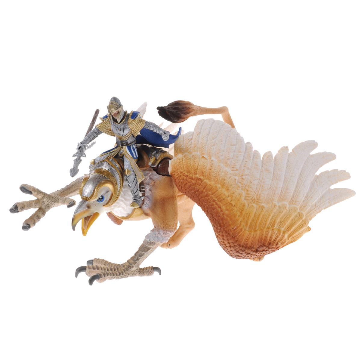 Фигурка Schleich Всадник на грифоне, 16 см