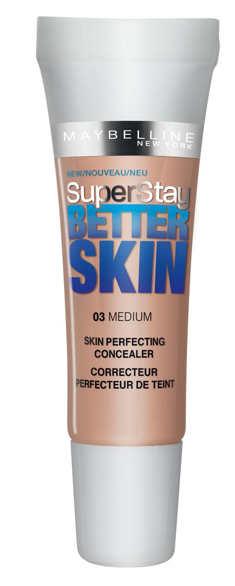 Maybelline New York Консилер Better Skin, стойкий, тон 03 Натурально-Бежевый, 11 мл26102025Maybelline New York Консилер Better Skin, тон 03, Натурально-Бежевый, 11 мл