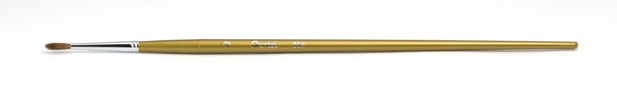 Кисть для рисования Pentel, пони, круглая, размер 0181513Кисть для рисования Pentel изготовлена из волоса пони. В отличие от обычных лошадей, волос пони отличается мягкостью, гладкостью, шелковистостью. Волос пони толще волоса белки, поэтому кисти из пони более плотные. Основное применение: акварель, гуашь, клей и косметические средства.Длина кисти: 21,5 см.Материал: мех пони, пластик, металл.Ширина щетины: 0,4 см.Длина щетины: 1,1 см.