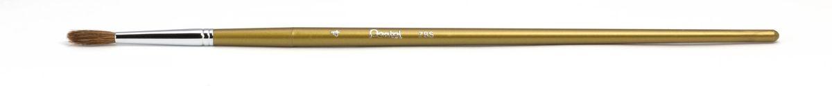 Кисть для рисования Pentel, пони, круглая, размер 4ZBS1-4Кисть для рисования Pentel изготовлена из волоса пони. В отличие от обычных лошадей, волос пони отличается мягкостью, гладкостью, шелковистостью. Волос пони толще волоса белки, поэтому кисти из пони более плотные. Основное применение: акварель, гуашь, клей и косметические средства.Длина кисти: 22,5 см.Материал: мех пони, пластик, металл.Ширина щетины: 0,5 см.Длина щетины: 1,5 см.