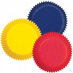 Набор бумажных форм для кексов Wilton Яркие цвета, диаметр 5 см, 75 шт54 009312Набор Wilton Яркие цвета состоит из 75 бумажных форм для кексов. Они предназначены для выпечки и упаковки кондитерских изделий, также могут использоваться для сервировки орешков, конфет и др. Формы не требуют предварительной смазки маслом или жиром. Для одноразового применения. Гофрированные бумажные формы идеальны для выпечки кексов, булочек и пирожных. Высота стенки: 3 см. Комплектация: 75 шт.