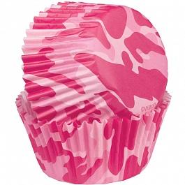 Набор бумажных форм для кексов Розовый камуфляж, диаметр 5 см, 75 шт54 009312Используются для выпекания кексов. Диаметр 5 см. В наборе 75 шт.